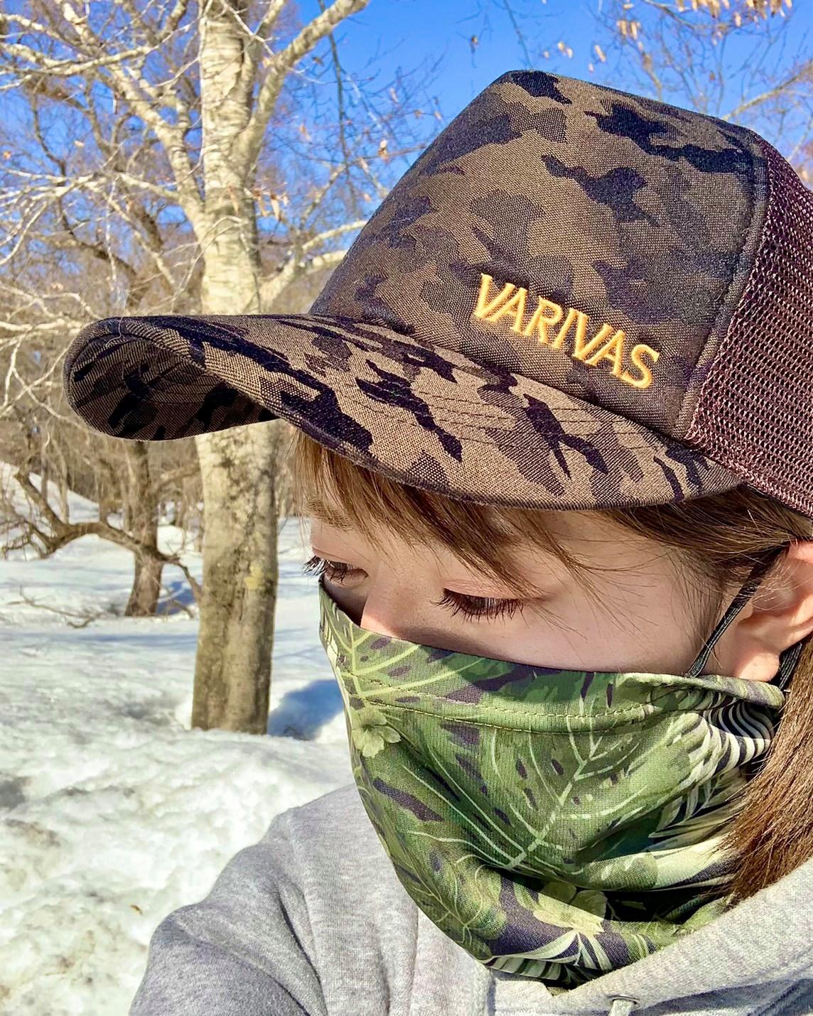 VARIVAS hat and gater