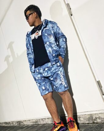 VARIVAS shorts and hoodie