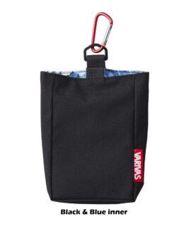 Small Pouch Bag VAAC-45 Black (Blue Camo inner)